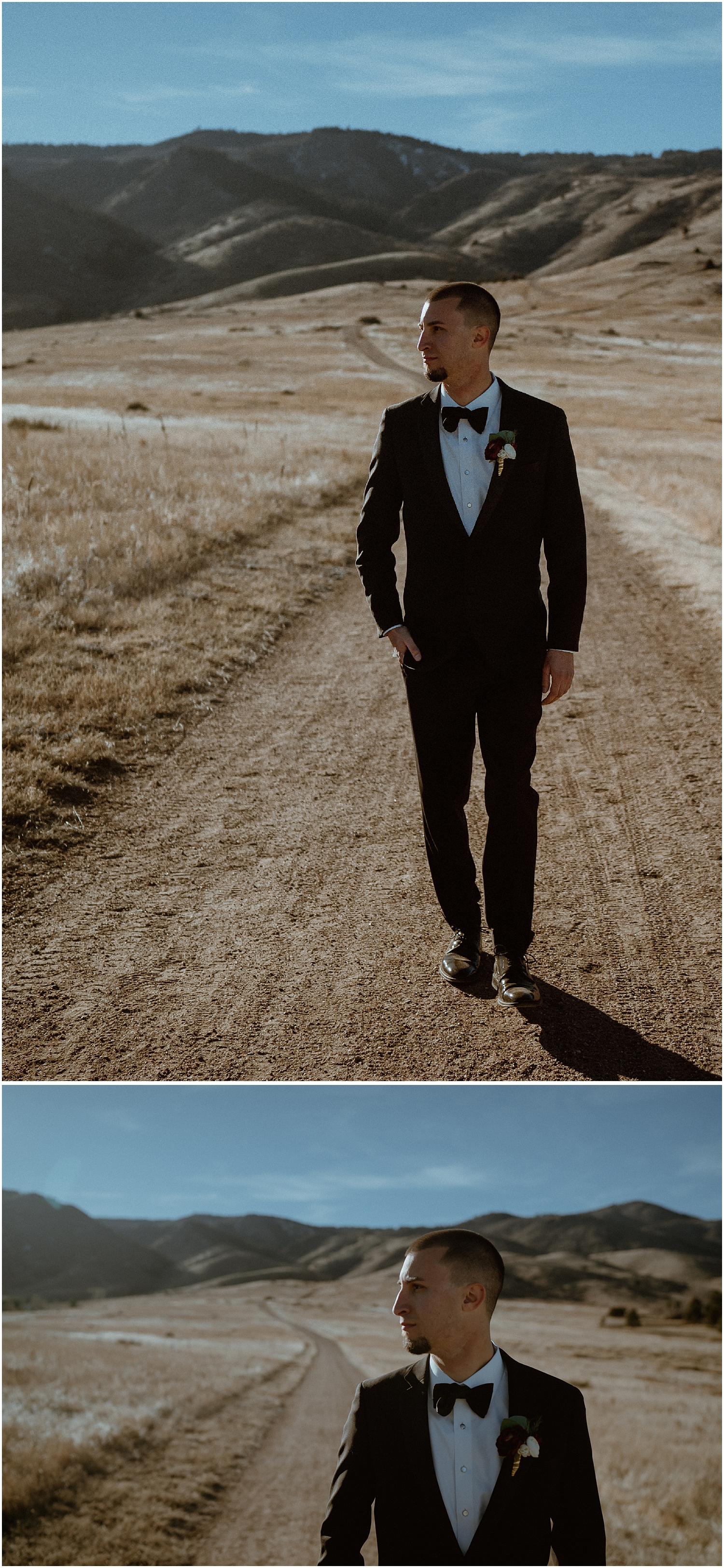 Groom Portraits at Manor House Colorado