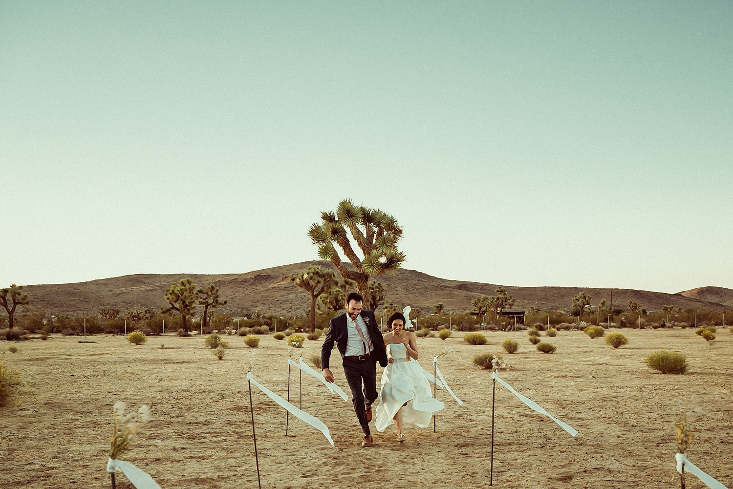 Joshua Tree Ceremony Photos